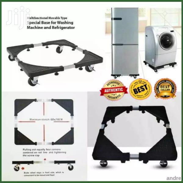 Adjustable Washing Machine Fridge Dish Washer Stand Base