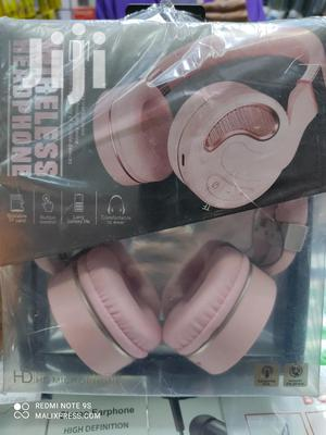 Bluetooth Wireless Headphones Pink Rechargeable Headsets | Headphones for sale in Nairobi, Nairobi Central