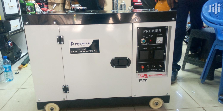 Premier 10kva Silent Generator Automatic Keystart Diesel