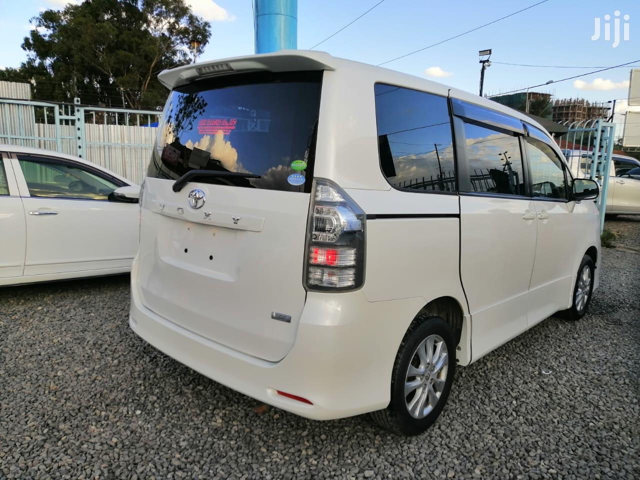 Toyota Voxy 2013 White   Cars for sale in Kilimani, Nairobi, Kenya
