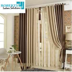 Cream Brown Curtains | Home Accessories for sale in Nairobi, Nairobi Central