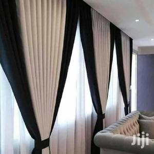 Brown and Cream Plain Curtains | Home Accessories for sale in Nairobi, Nairobi Central