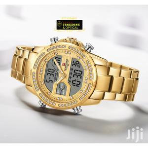 Full Gold Naviforce Watch. Dual Display. | Watches for sale in Mombasa, Mvita