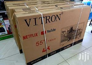 New Vitron 55 Inch 4K Uhd Android Smart LED TV   TV & DVD Equipment for sale in Nairobi, Nairobi Central
