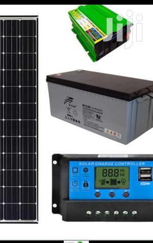 250watts Solar Panel Ful Kit | Solar Energy for sale in Nairobi, Nairobi Central
