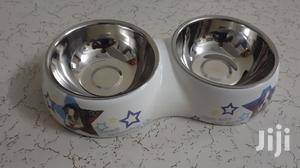 Dog And Cat Double Bowl | Pet's Accessories for sale in Mombasa, Mvita