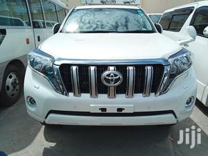 Toyota Land Cruiser Prado 2014 White | Cars for sale in Mombasa, Mvita