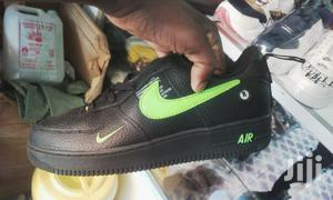 Black/Green Sneakers Nike Air Force 1   Shoes for sale in Nairobi, Nairobi Central