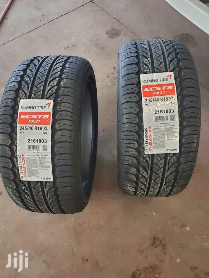 245/40 R18 Kumho Tyre 97v