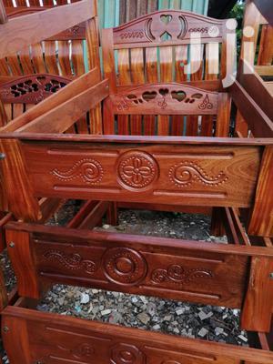 Mahogany Beds 5 *6 Feets.   Furniture for sale in Nairobi, Nairobi Central