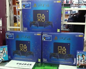 Ps4 Slim 500GB Days of Play Limited Edition With Two Controllers | Video Game Consoles for sale in Nairobi, Nairobi Central