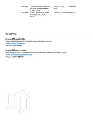 Talented Individual | Advertising & Marketing CVs for sale in Nairobi, Langata