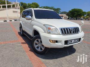 Toyota Land Cruiser Prado 2007 White   Cars for sale in Mombasa, Tudor