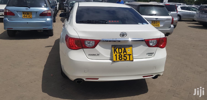 Toyota Mark X 2013 White   Cars for sale in Mvita, Mombasa, Kenya