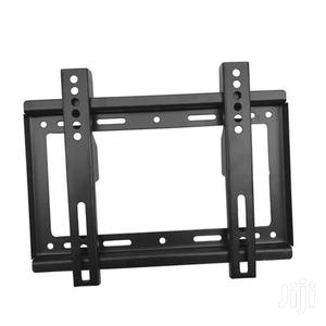 """Generic 14""""-42"""" TV Flat Panel Wall Bracket Holder Black 