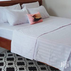 White Stripes Fitted Bedsheet | Home Accessories for sale in Mombasa, Mvita
