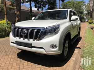 Toyota Land Cruiser Prado 2014 White   Cars for sale in Nairobi, Runda