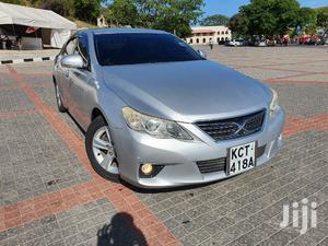 Toyota Mark X 2012 Silver | Cars for sale in Mombasa, Tudor