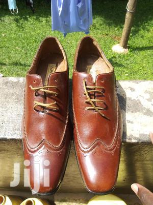 Delli Aldo Brown Classic Wing-tip Oxford Dress Shoes 43 | Shoes for sale in Kisumu, Kisumu Central