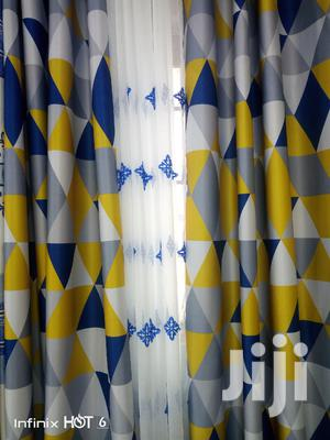 Blue Curtains With Hearvy Material | Home Accessories for sale in Nairobi, Githurai