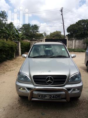 Mercedes-Benz M Class 2002 ML 320 Silver   Cars for sale in Mombasa, Mvita