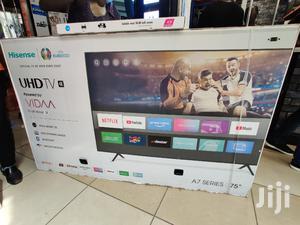 Hisense 75inch Smart 4K Uhd Frameless TV (A7 Series) | TV & DVD Equipment for sale in Nairobi, Nairobi Central