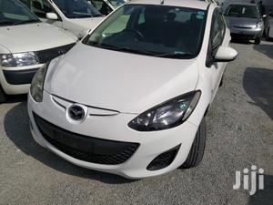 Mazda Demio 2013 White   Cars for sale in Nyali, Ziwa la Ngombe