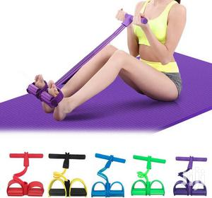 4 Tubes Resistance Bands Tummy Trimmer.   Sports Equipment for sale in Nairobi, Nairobi Central
