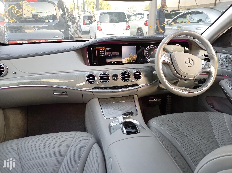 Mercedes-Benz S Class 2015 White   Cars for sale in Ziwa la Ngombe, Nyali, Kenya