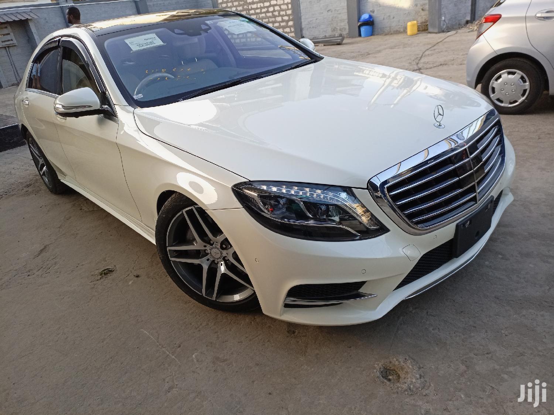 Mercedes-Benz S Class 2015 White