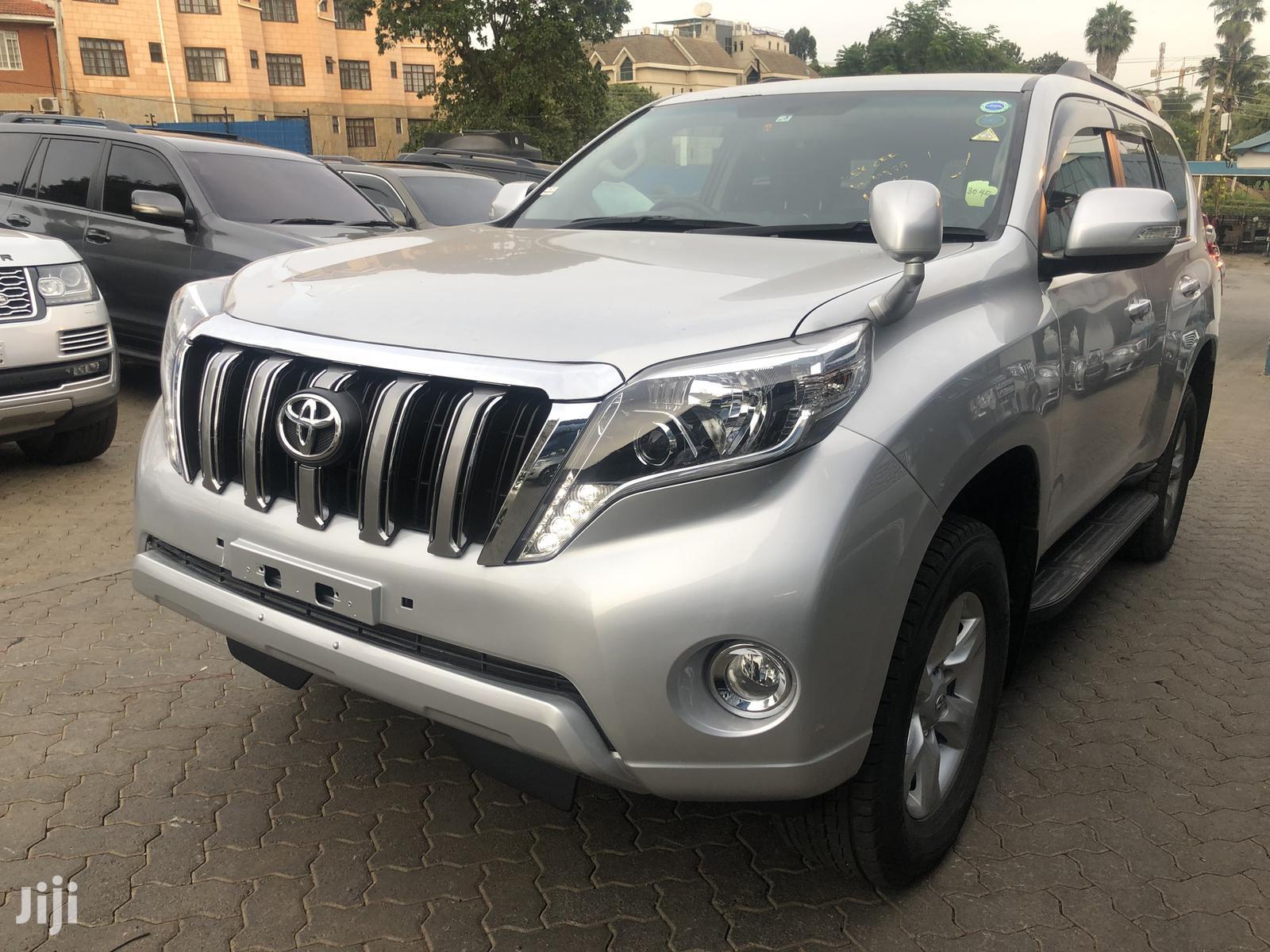 Toyota Land Cruiser Prado 2013 Silver   Cars for sale in Runda, Nairobi, Kenya
