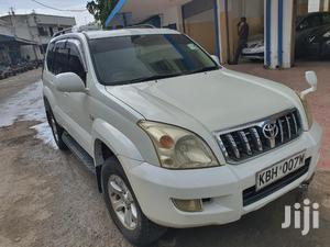 Toyota Land Cruiser Prado 2005 GRANDE White   Cars for sale in Mombasa, Tudor