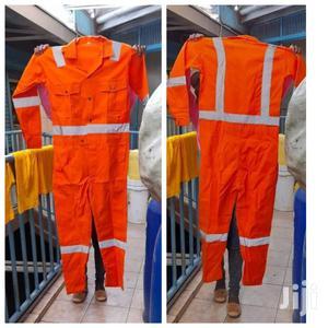 Reflective Orange Work Overalls   Safetywear & Equipment for sale in Nairobi, Nairobi Central