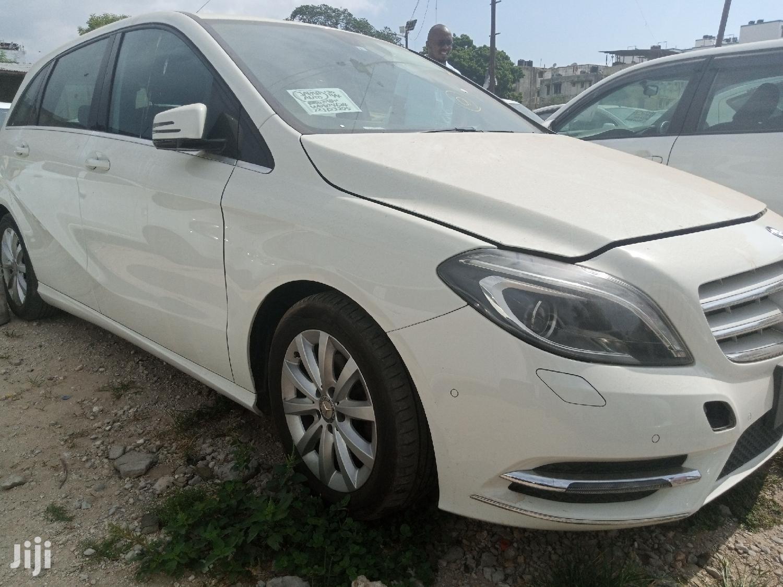 Mercedes-Benz B-Class 2013 White | Cars for sale in Mvita, Mombasa, Kenya
