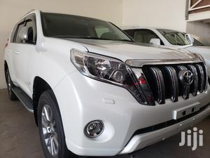 Toyota Land Cruiser Prado 2016 White   Cars for sale in Mvita, Majengo