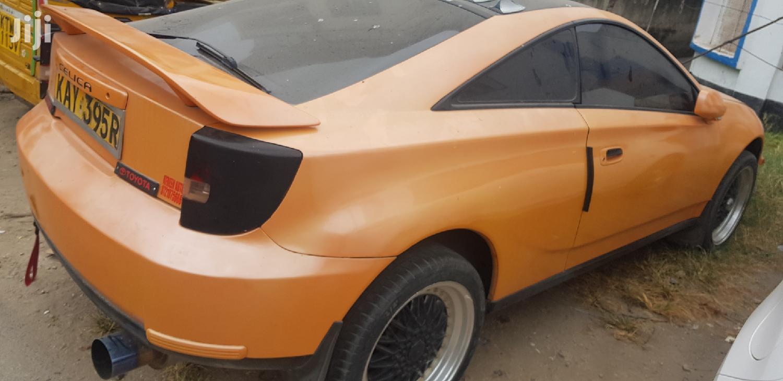 Toyota Celica 2000 Orange | Cars for sale in Tudor, Mombasa, Kenya