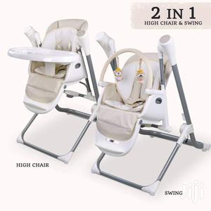 2 In 1 Baby Swing/High Chair   Children's Furniture for sale in Nairobi, Eastleigh