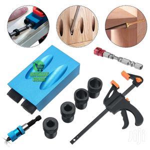 Pocket Hole Jig 15 Set Hole Locator Screw Bit Adapter Socket   Hand Tools for sale in Nairobi, Nairobi Central