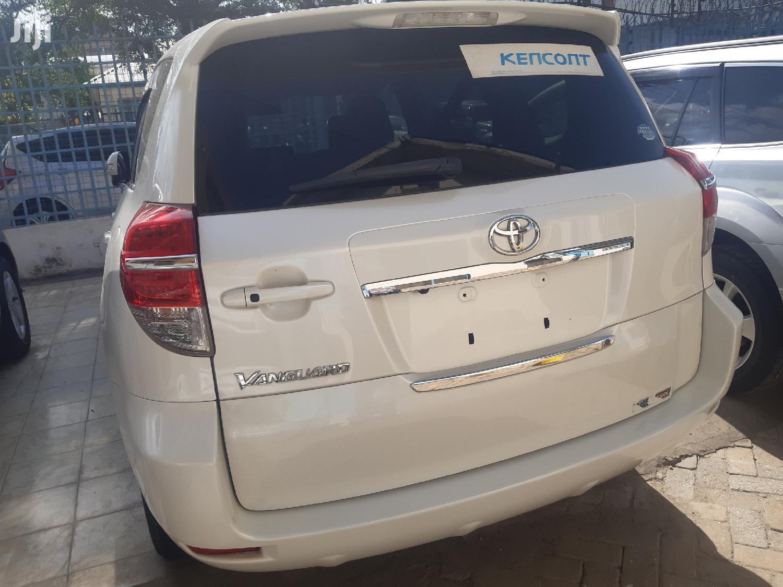 Toyota Vanguard 2014 White   Cars for sale in Tudor, Mombasa, Kenya
