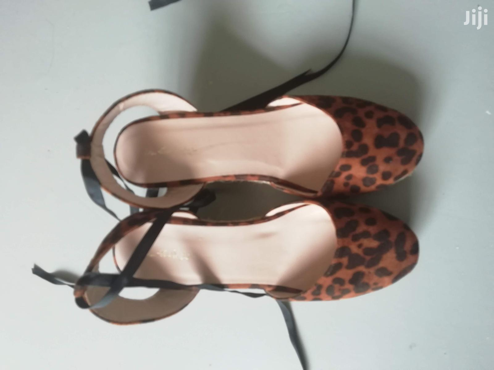 Archive: Animal Print Wedges From Miss Selfridge