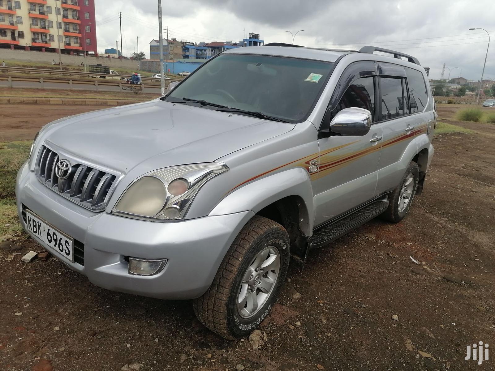 Toyota Land Cruiser Prado 2003 Silver   Cars for sale in Ruiru, Kiambu, Kenya