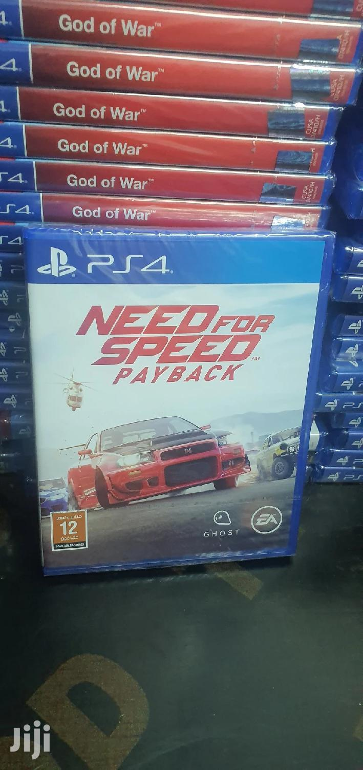 Need for Speed Payback Ps4 Nfs