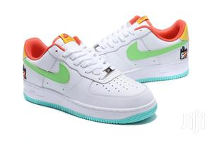 Classy White Air Force 1 With Green Tick   Shoes for sale in Nairobi, Nairobi Central
