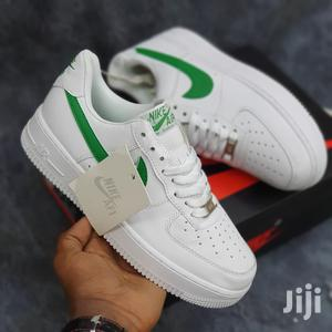 White Nike Air Force 1 With Green Tick   Shoes for sale in Nairobi, Nairobi Central