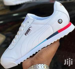 White Lace-Up BMW Puma Roma Casual Sneakers | Shoes for sale in Nairobi, Nairobi Central