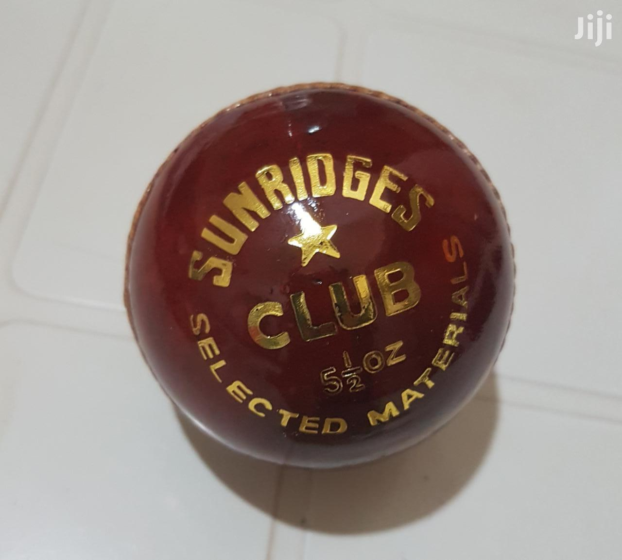 SS Club Cricket Ball, 5.5oz (Red)