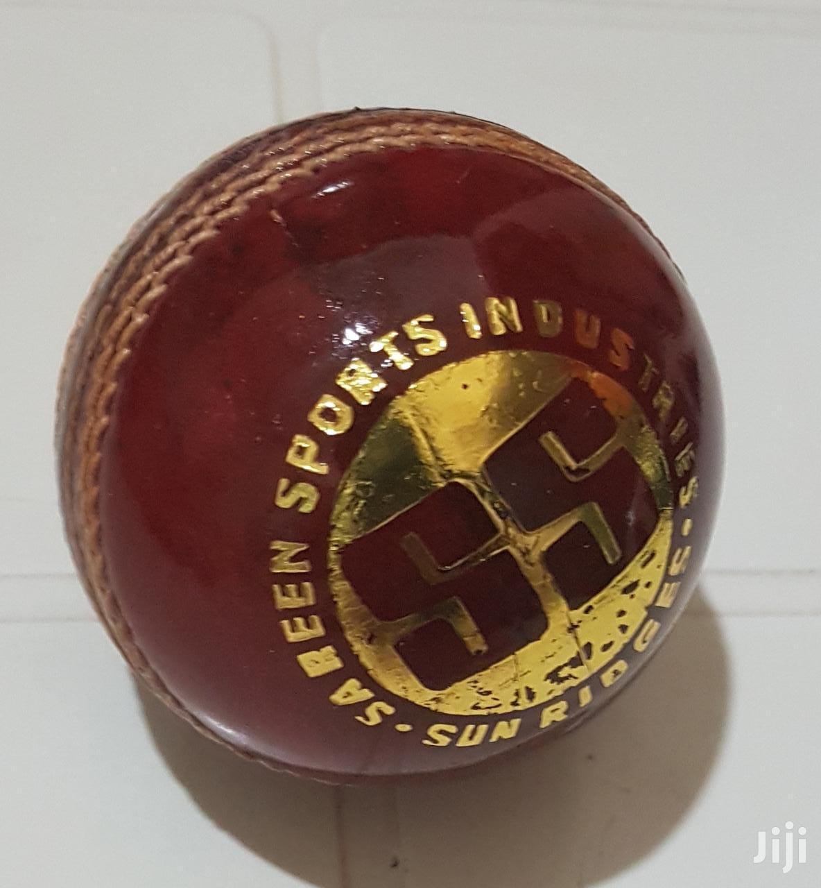 SS Club Cricket Ball, 5.5oz (Red) | Sports Equipment for sale in Kilimani, Nairobi, Kenya