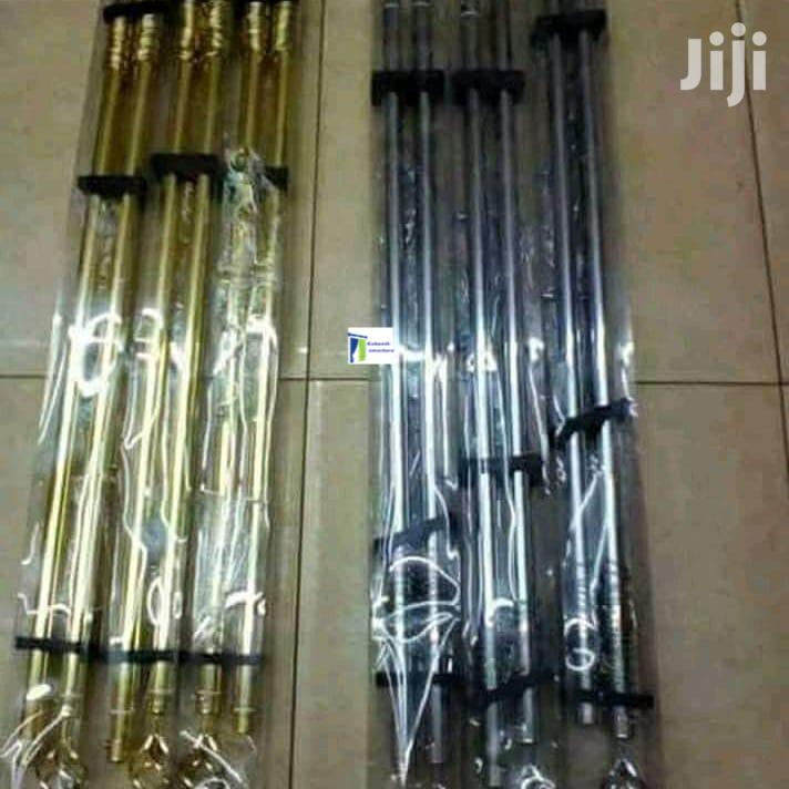 Curtains Rods Available