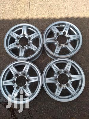Original Rims Size 15 Inch 6 Holes for Pick UPS Set. | Vehicle Parts & Accessories for sale in Nairobi, Nairobi Central