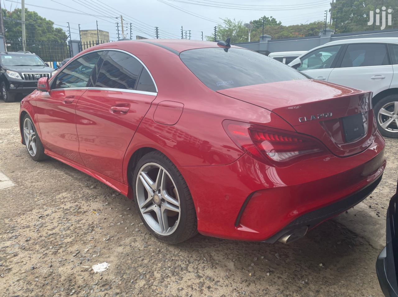 Mercedes-Benz CLA-Class 2014 Red   Cars for sale in Mombasa CBD, Mombasa, Kenya